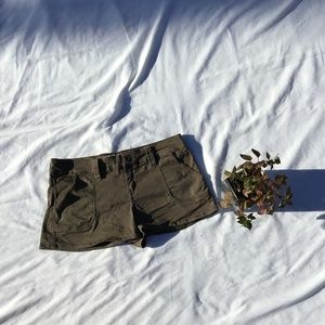 Plugg Jeans Shorts - Plugg Jeans Army Green  shorts